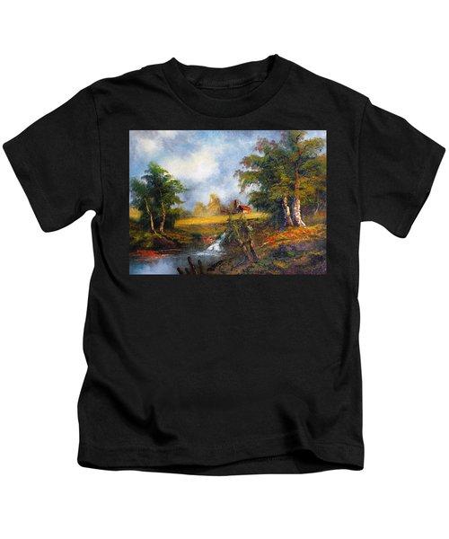 Red Cottage Kids T-Shirt