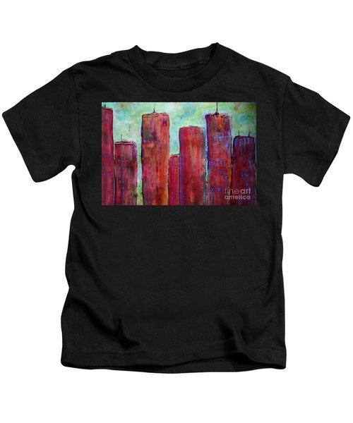 Red In The City Kids T-Shirt