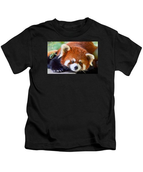 Red Panda Kids T-Shirt