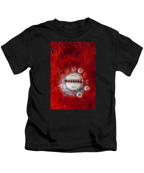 Red Phone For Emergencies Kids T-Shirt