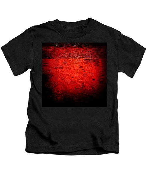 Red Rain Kids T-Shirt