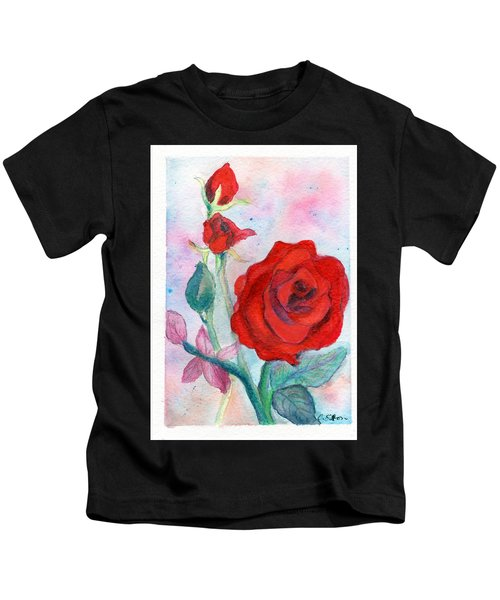 Red Roses Kids T-Shirt