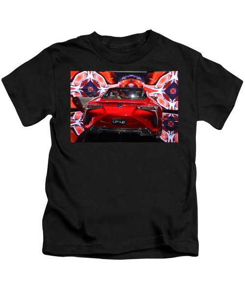 Red Velocity Kids T-Shirt