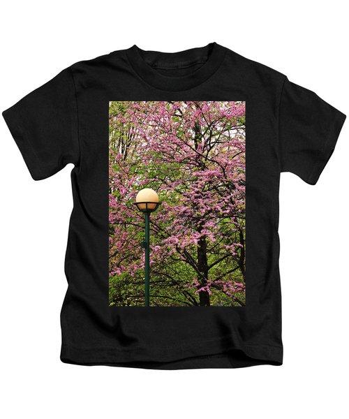 Redbud And Lamp Kids T-Shirt