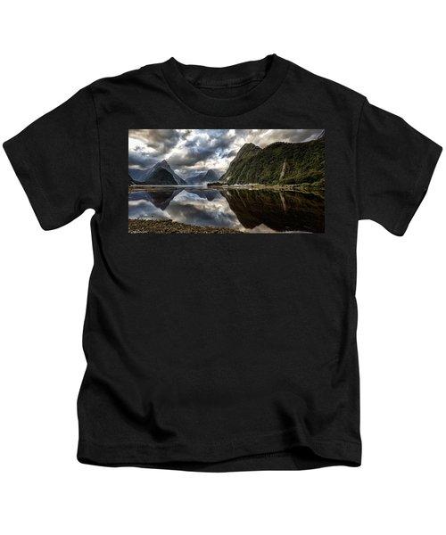 Reflecting On Milford Kids T-Shirt