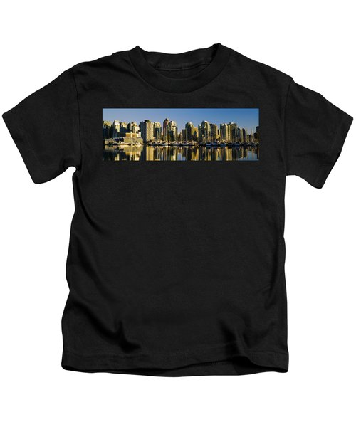Reflection Of Buildings In Water, False Kids T-Shirt