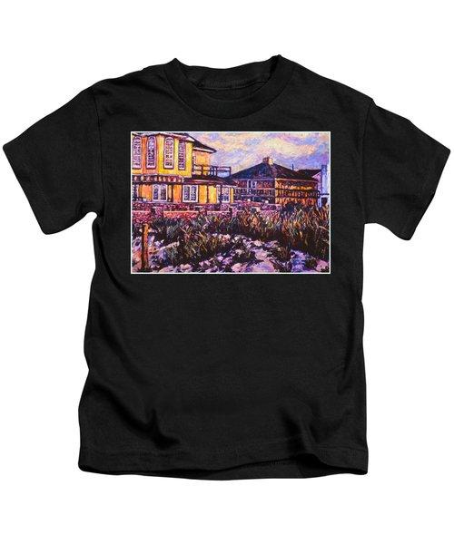 Rehoboth Beach Houses Kids T-Shirt