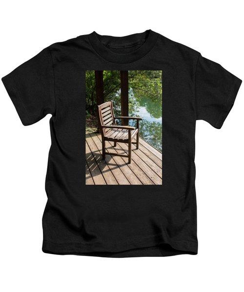 Alone By The Lake Kids T-Shirt
