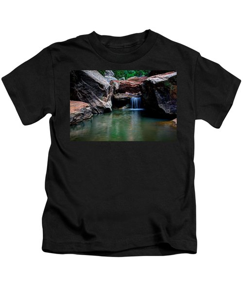 Remote Falls Kids T-Shirt
