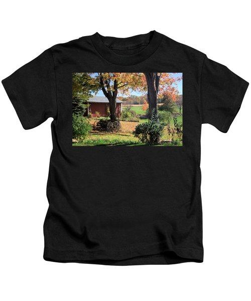 Retired Wagon Kids T-Shirt