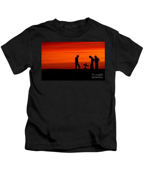 Cowboy Reverence Kids T-Shirt