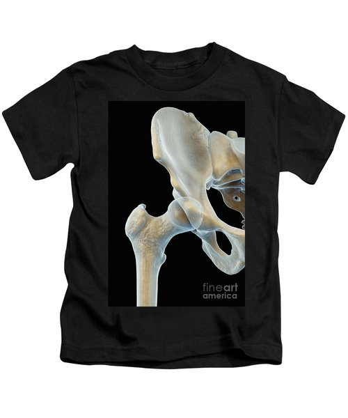 Right Hip Joint Male Kids T-Shirt