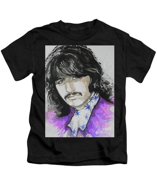Ringo Starr. 01 Kids T-Shirt