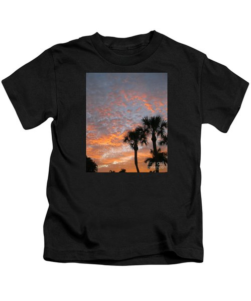 Rise And Shine. Florida. Morning Sky View Kids T-Shirt