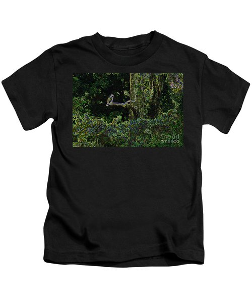 River Bird Of Prey Kids T-Shirt