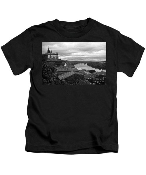 River Mino And Portugal From Tui Bw Kids T-Shirt