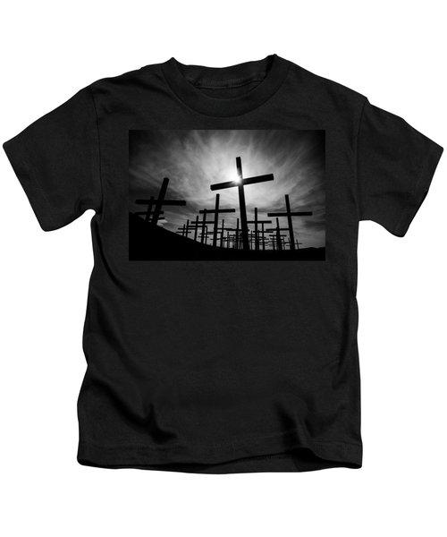 Roadside Memorial Kids T-Shirt