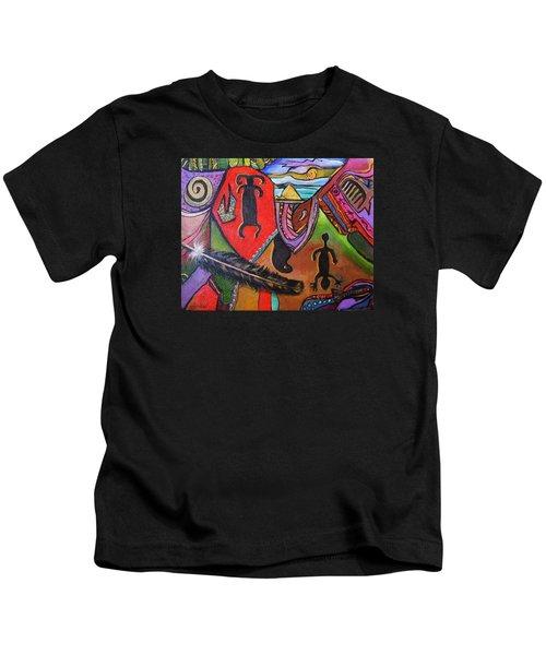 Rock Art Of Nevada Kids T-Shirt
