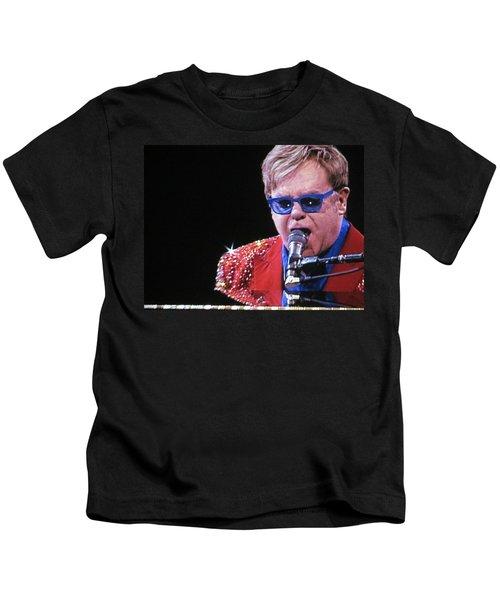 Rocket Man Kids T-Shirt by Aaron Martens