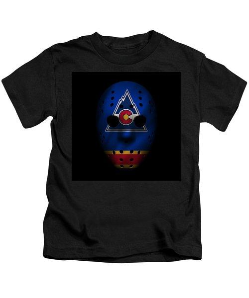Rockies Jersey Mask Kids T-Shirt