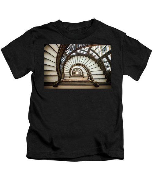 Rookery Building Oriel Staircase Kids T-Shirt