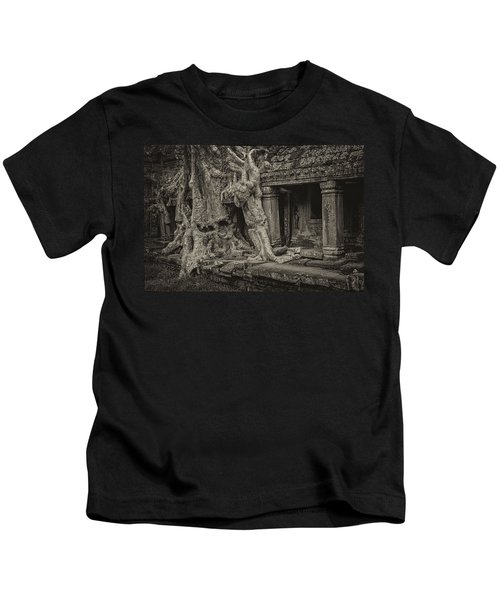 Roots In Ruins 7, Ta Prohm, 2014 Kids T-Shirt
