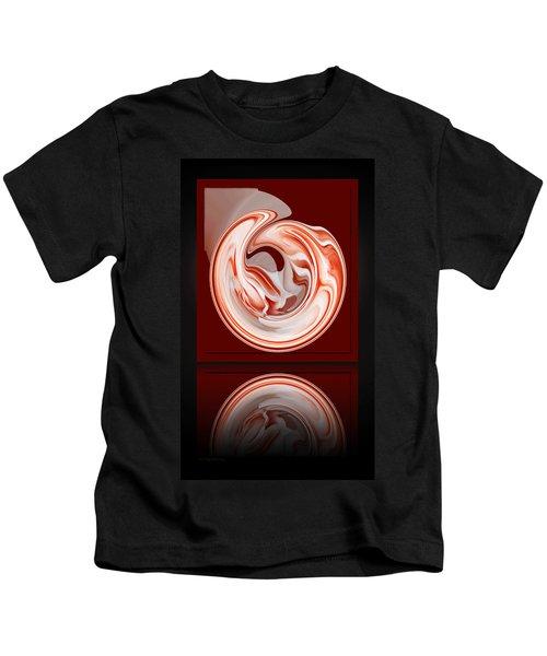 Rose In Orb Kids T-Shirt