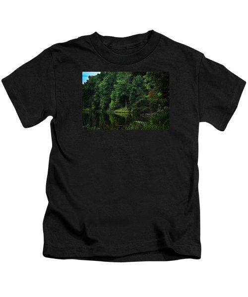Rose Lake Beauty Kids T-Shirt