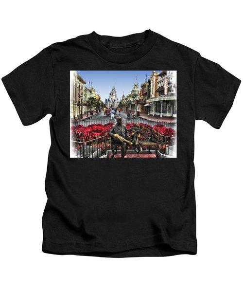Roy And Minnie Mouse Walt Disney World Kids T-Shirt