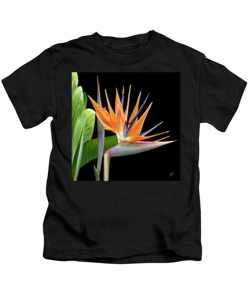 Royal Beauty I - Bird Of Paradise Kids T-Shirt