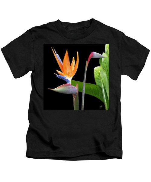 Royal Beauty II - Bird Of Paradise Kids T-Shirt