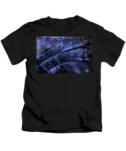 Royal Eiffel Tower Kids T-Shirt