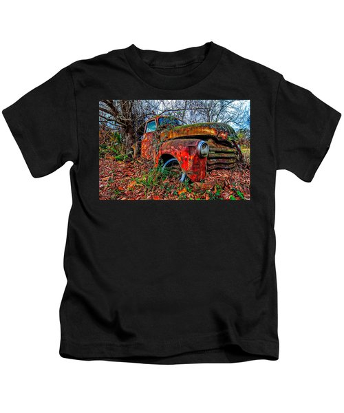 Rusty 1950 Chevrolet Kids T-Shirt