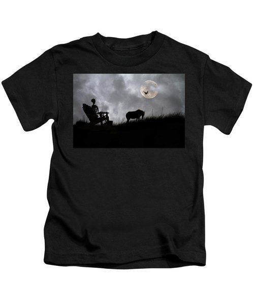 Sam And The Night Watch Kids T-Shirt