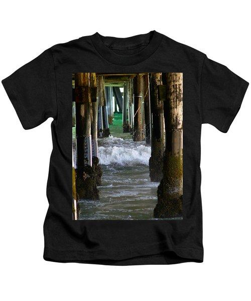 Santa Monica Pier Kids T-Shirt