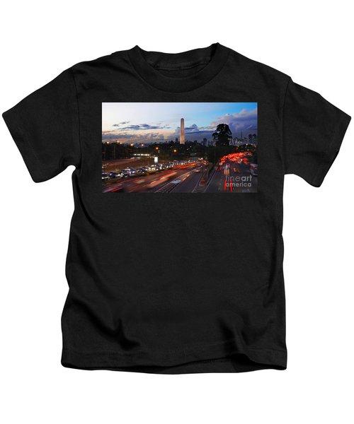 Sao Paulo Skyline - Ibirapuera Kids T-Shirt