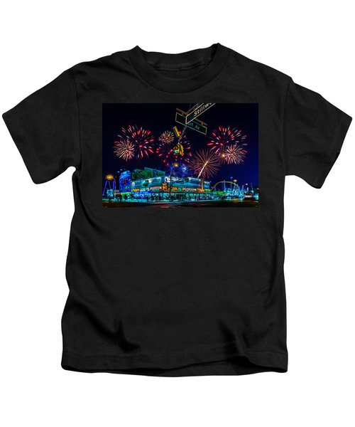 Saturday Night At Coney Island Kids T-Shirt