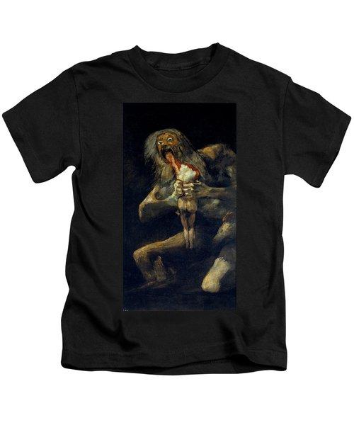 Saturn Devouring His Son Kids T-Shirt