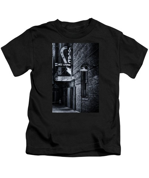 Scat Lounge In Cool Black And White Kids T-Shirt