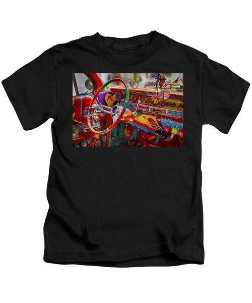 Scharfs Bomb Cadi Ultima Suprema Deluxa Interior Graffiti Kids T-Shirt