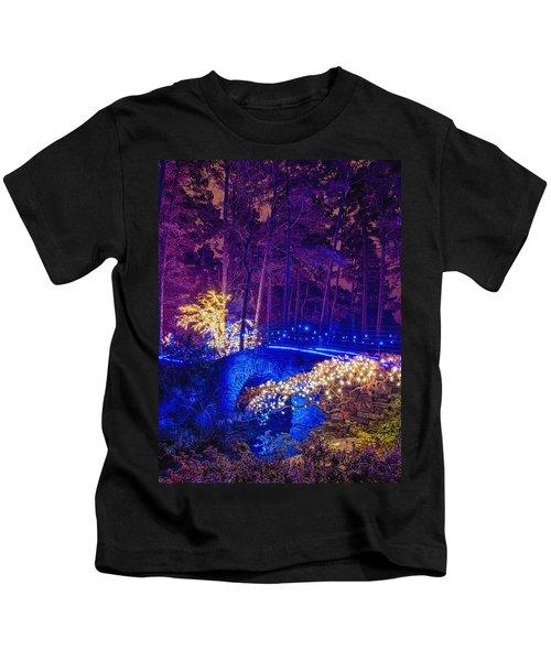 Stone Bridge - Crop Kids T-Shirt