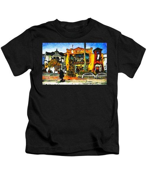 Sea Barn Avila Beach California Kids T-Shirt