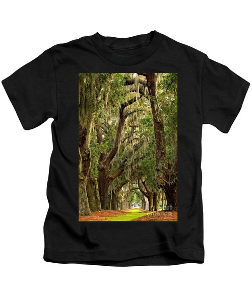 Sea Island Oaks Portrait Kids T-Shirt