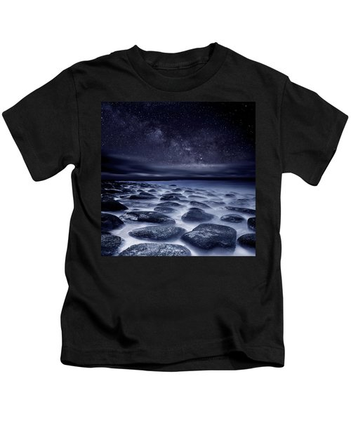 Sea Of Tranquility Kids T-Shirt