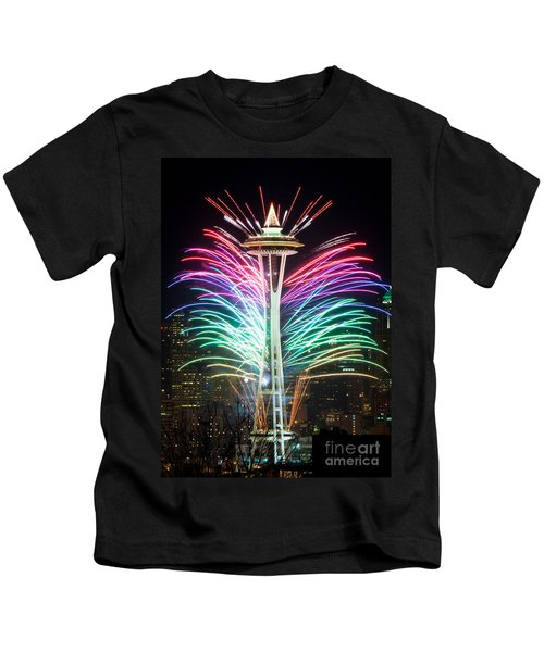 Seattle New Year Kids T-Shirt