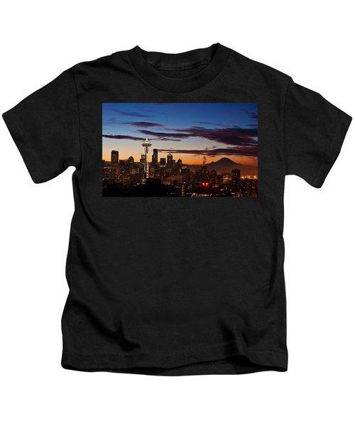 Seattle Sunrise Kids T-Shirt