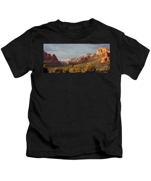 Sedona Sunshine Panorama Kids T-Shirt