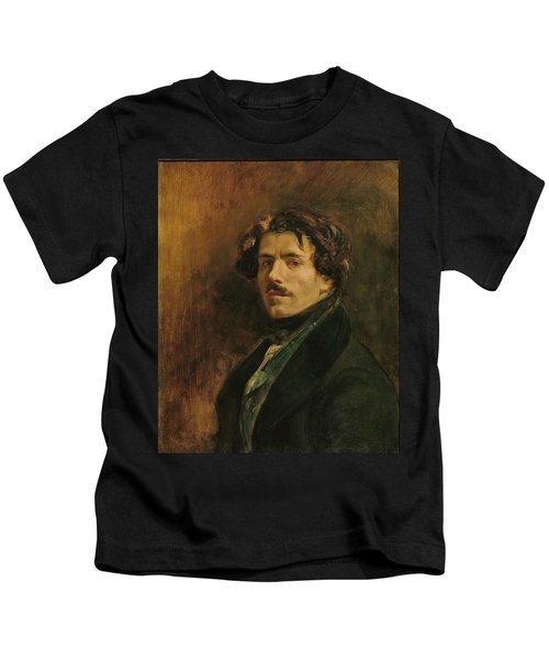 Self Portrait, C.1837 Oil On Canvas Kids T-Shirt