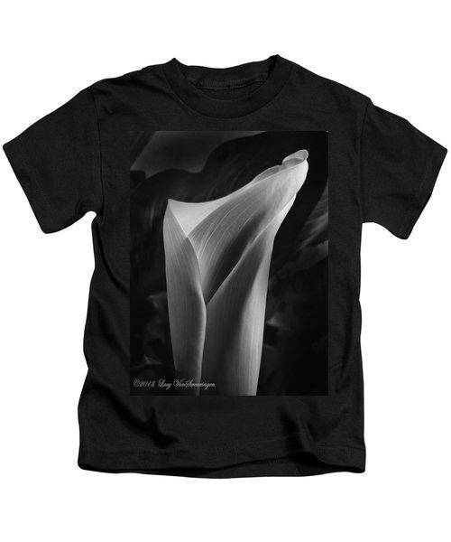 Sensuous Calla Kids T-Shirt
