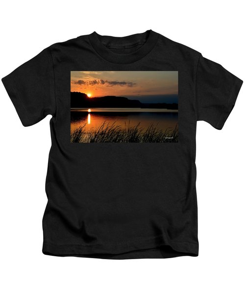 September Sunset Kids T-Shirt